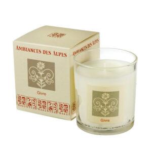 ambiances des alpes givre candle