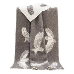cosy owl blanket