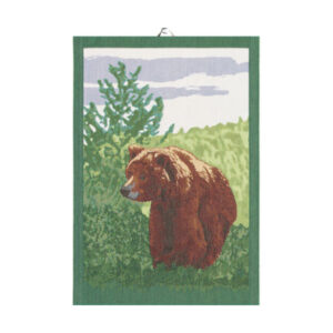 ekelund bear tea towel