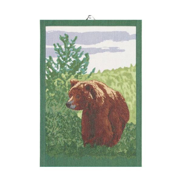 ekelund bear tea towel