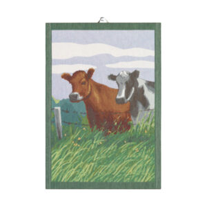 ekelund cow tea towel