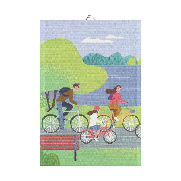 ekelund cycling tea towel