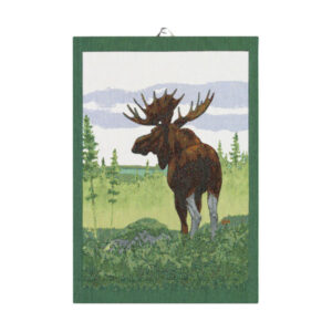 ekelund moose tea towel