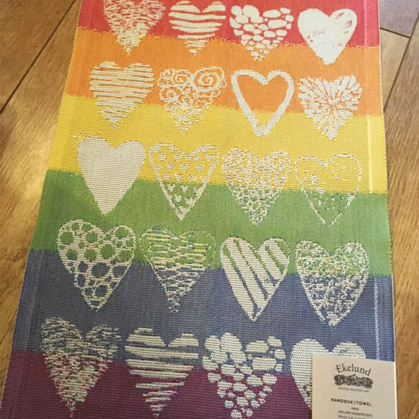 ekelund pride tea towel