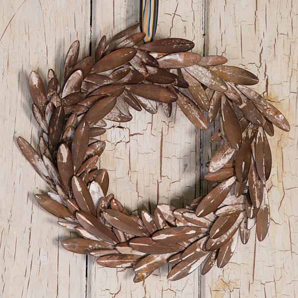 nordicana metal wreath