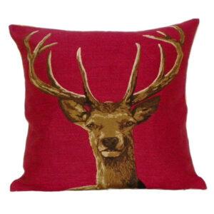 red deer cushion